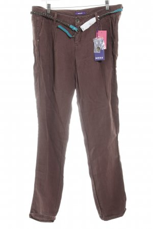 Mexx Linen Pants brown casual look