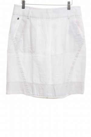 Mexx Linen Skirt white casual look