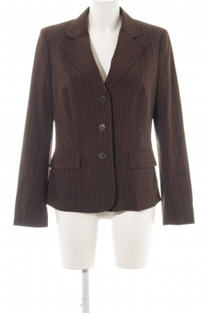 Mexx Blazer long brun style d'affaires