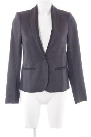 Mexx Long-Blazer graublau-dunkelgrau Casual-Look