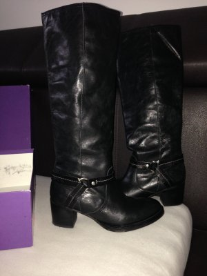 Mexx Riding Boots black leather