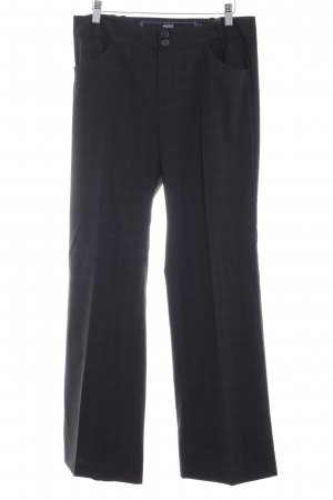 Mexx Marlene Trousers dark grey-light grey check pattern casual look