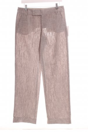 Mexx Marlene Trousers grey weave pattern casual look