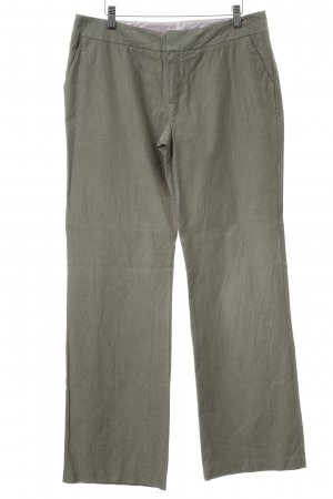 Mexx Marlene Trousers grey brown herringbone pattern retro look
