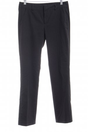 Mexx Marlene Trousers black pinstripe business style