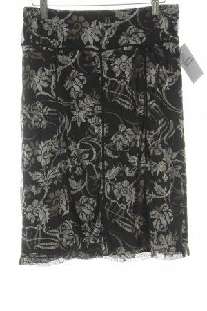 Mexx Midirock florales Muster 90ies-Stil