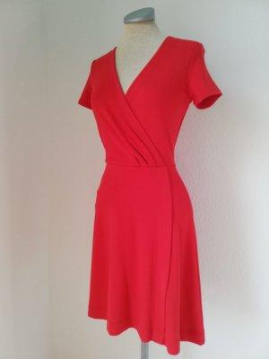 Mexx Minikleid kurzarm Kleid rot Gr. EUR XS 34 neu retro kurz mini