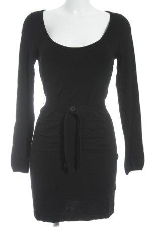 Mexx Minikleid schwarz schlichter Stil