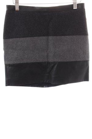 Mexx Minirock schwarz-grau Casual-Look