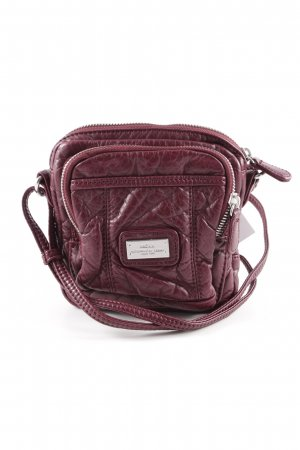 Mexx Minitasche brombeerrot Animalmuster Casual-Look