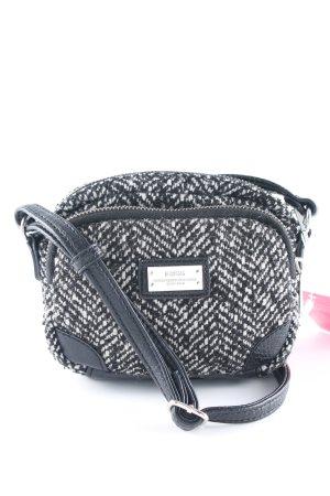 Mexx Minitasche schwarz-weiß meliert Casual-Look