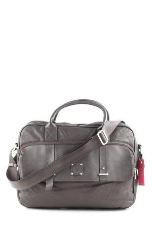 Mexx Laptop bag black brown animal pattern business style