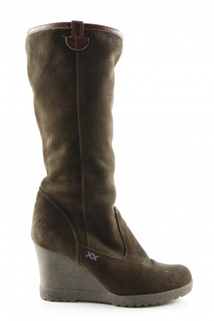 Mexx Platform Boots bronze-colored casual look