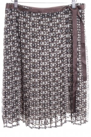 Mexx Pleated Skirt graphic pattern casual look