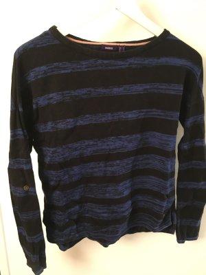 Mexx Pullover blau/schwarz gestreift