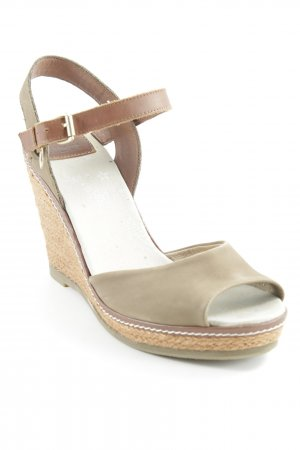 Mexx Strapped High-Heeled Sandals brown-grey brown beach look