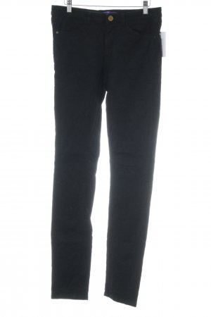 Mexx Jeans cigarette noir tissu mixte