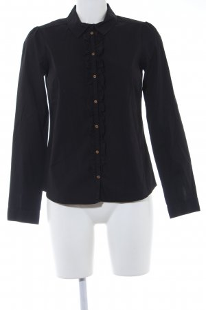 Mexx Ruffled Blouse black simple style