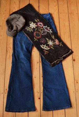 """MEXX Schlagjeans / Bootcut """"Amsterdam"""" Gr. 30/32, jeansblau, Shop the Look, incl. Accessoires"""