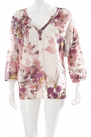 Mexx Schlupf-Bluse florales Muster Casual-Look