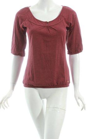 Mexx Shirt karminrot Casual-Look
