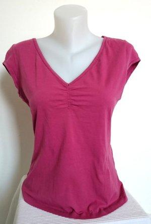 Mexx Shirt mit Raffung (Gr. L)