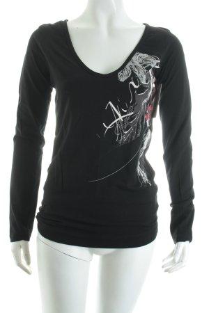 Mexx Shirt schwarz Casual-Look