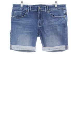 Mexx Shorts stahlblau Casual-Look