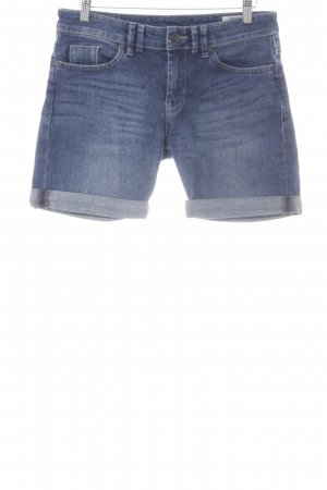 Mexx Shorts steel blue-cornflower blue casual look