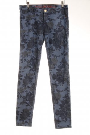 Mexx Skinny Jeans Blumenmuster Casual-Look