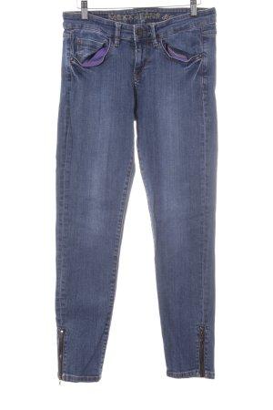 Mexx Slim Jeans blau College-Look
