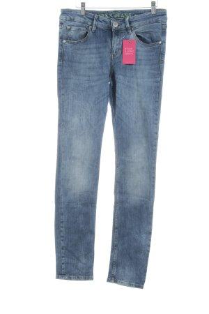 Mexx Slim Jeans kornblumenblau-stahlblau Casual-Look