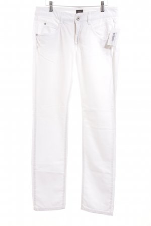 Mexx Slim Jeans weiß schlichter Stil