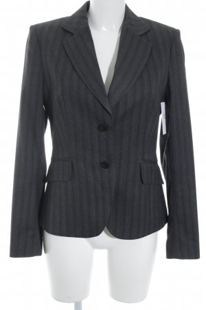 Mexx Smoking-Blazer dunkelgrau Nadelstreifen Business-Look