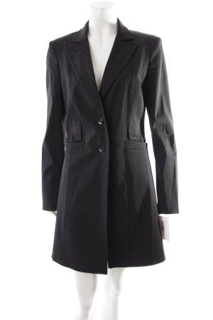 Mexx Blazer de esmoquin negro estilo minimalista