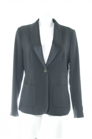 Mexx Smoking-Blazer schwarz Webmuster Business-Look