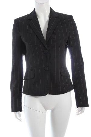 Mexx Smoking-Blazer schwarz-weiß Nadelstreifen Eleganz-Look