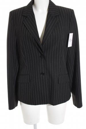 Mexx Smoking-Blazer schwarz-weiß Streifenmuster Business-Look