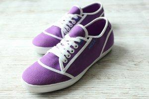 Mexx Sneakers met veters veelkleurig Textielvezel