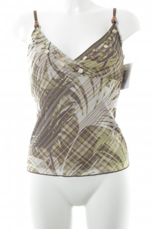 Mexx Spaghetti Strap Top abstract pattern beach look
