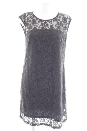 Mexx Spitzenkleid grau florales Muster Elegant