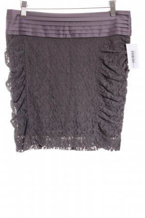 Mexx Lace Skirt taupe elegant