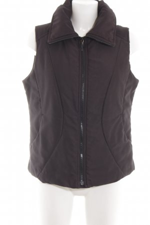 Mexx Quilted Gilet black simple style