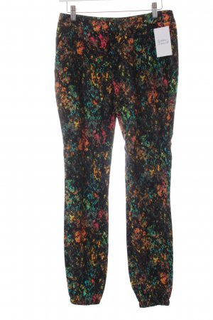 Mexx Stoffhose abstraktes Muster Casual-Look
