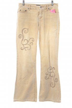 Mexx Stoffhose creme Casual-Look
