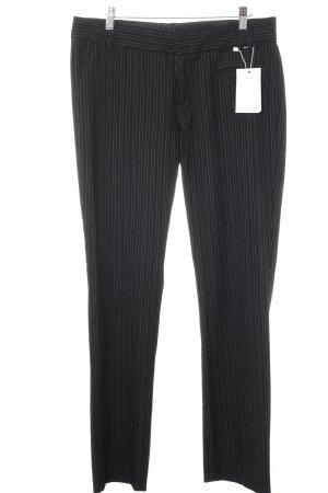 Mexx Stoffhose schwarz-weiß Nadelstreifen Business-Look