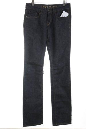 Mexx Straight-Leg Jeans blau Casual-Look