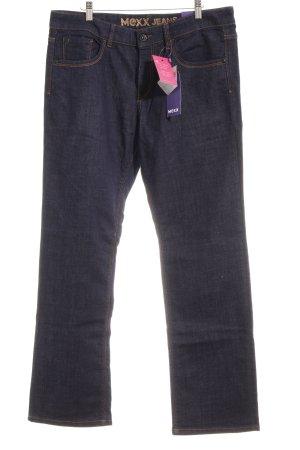 "Mexx Straight-Leg Jeans ""JAMBE DROITE"" dunkelblau"