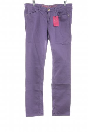 Mexx Straight-Leg Jeans lila Casual-Look