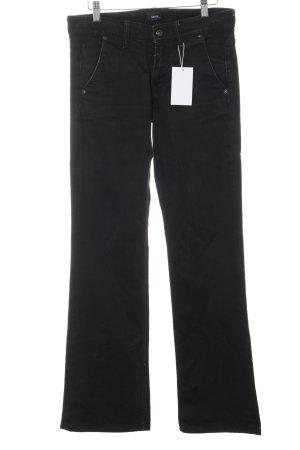 Mexx Jeans a gamba dritta nero stile casual